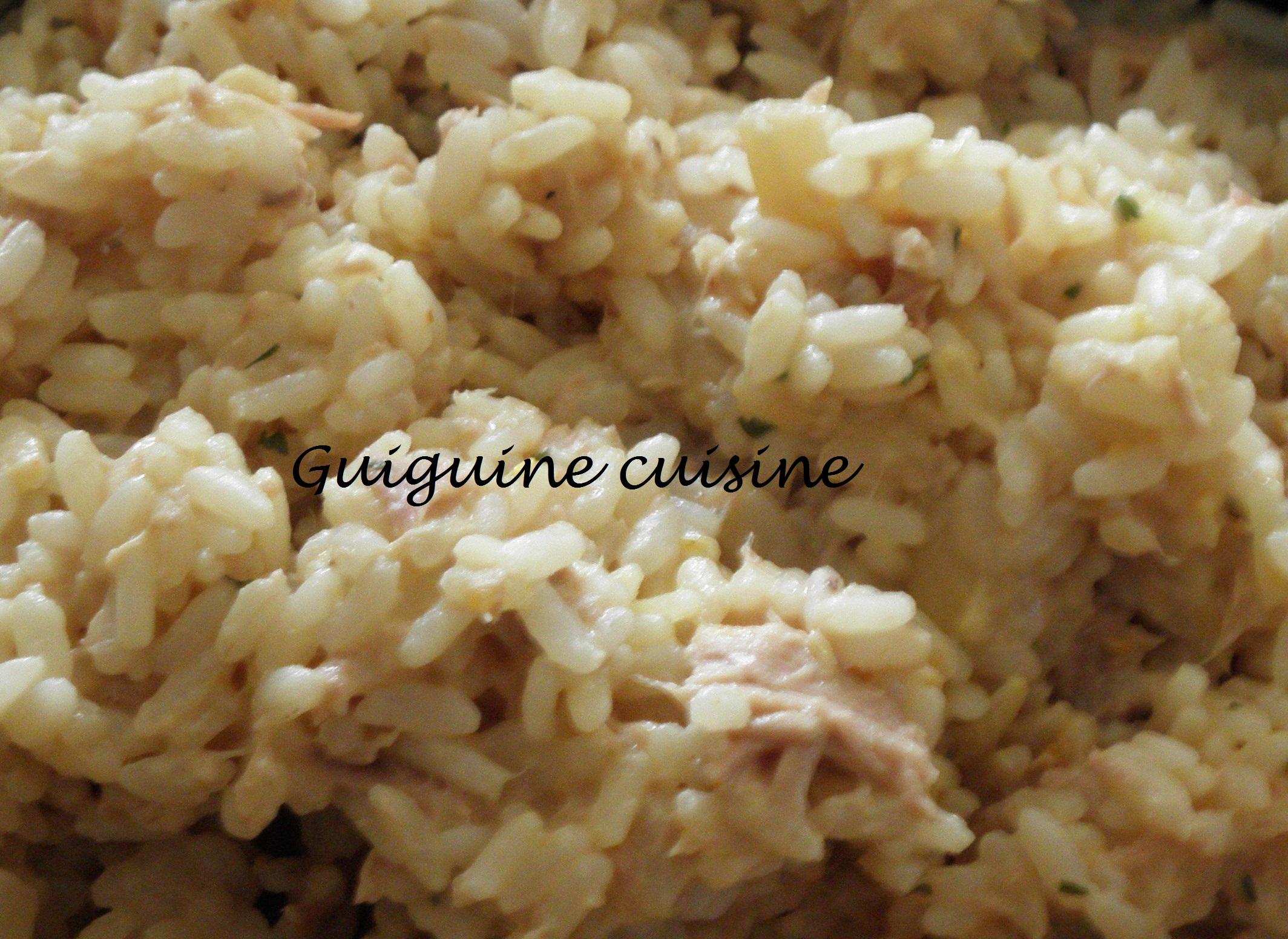 risotto thon asperges guiguine cuisine. Black Bedroom Furniture Sets. Home Design Ideas