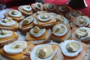 toasts mimolette oeufs