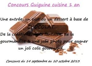 concours 1 an guiguine cuisine
