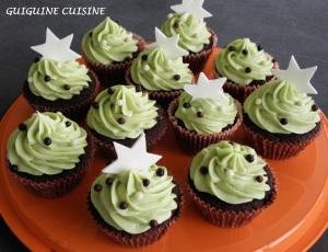 cupcake noele pistache choco