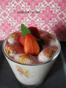 verrine façon charlotte aux fraises1