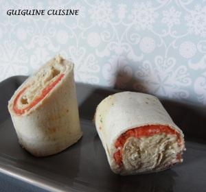 wraps saumon surimi