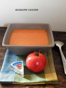 velouté tomates vache qui rit