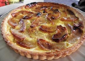 tarte normande aux pommes1