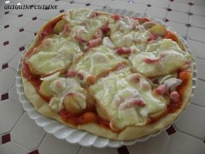 Pizza raclette2