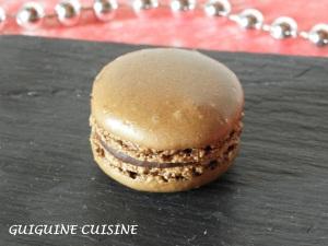 macarons choco-praliné