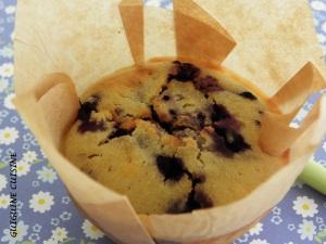 Muffins myrtille vanille