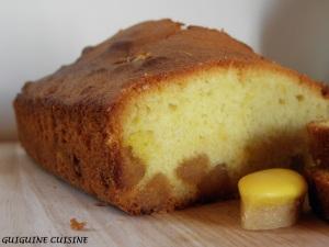 Cake calissons citron1