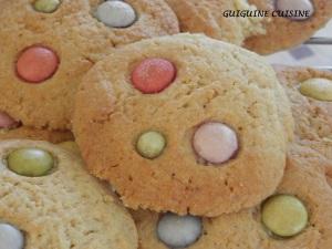 cookies aux smarties1