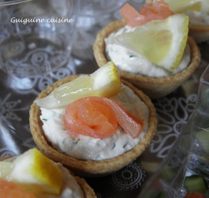 Tartelettes en duo de saumon   (1)