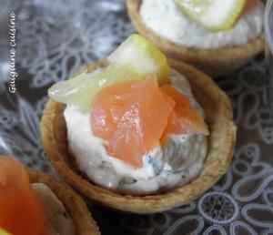 Tartelettes en duo de saumon   (3