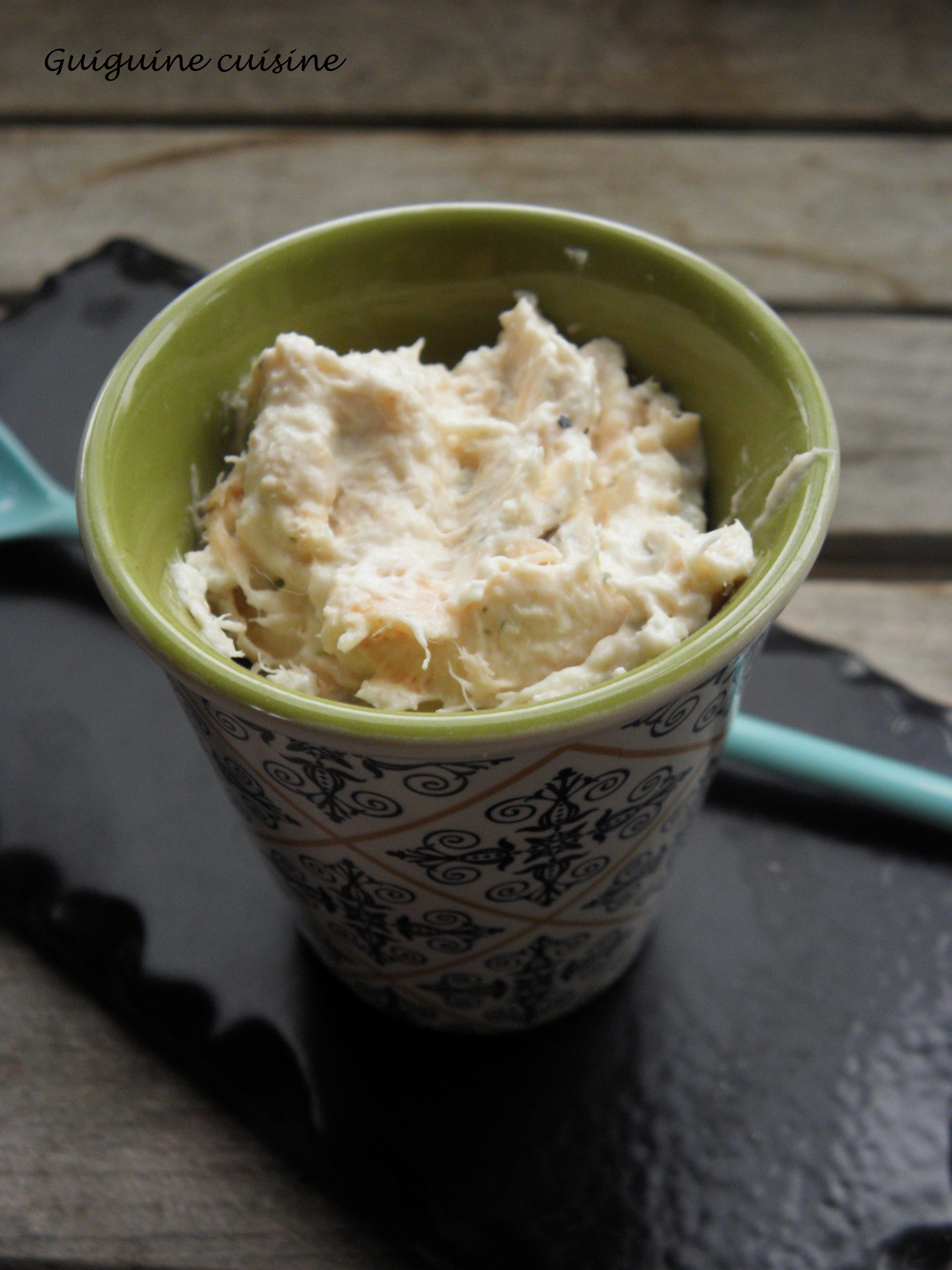 Rillettes de saumon au boursin ail et fines herbes blogs de cuisine - Boursin cuisine ail et fines herbes ...