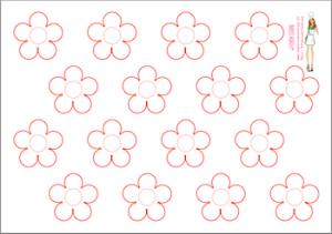 Gabarit-macarons-fleur-abeille-a-telecharger