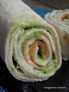 wraps saumon chèvre fines herbes3