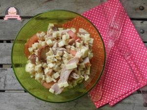 salade crozets été poulet