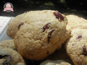 Cookies au chocolat blanc et cranberries de Q. Pasquesoone