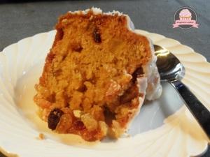 cake de Noêl aux fruits confis