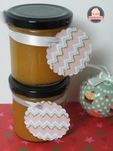 confiture oranges Noël