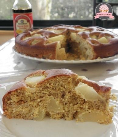 gâteau noisettes poires kikkoman 1