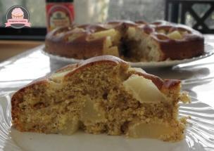 gâteau noisettes poires kikkoman 2