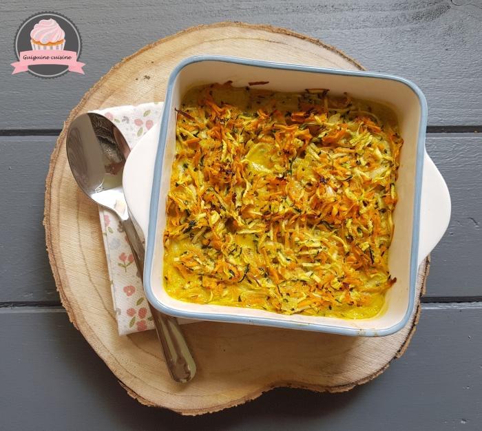 gratin léger courgettes carottes cancoillotte (2)