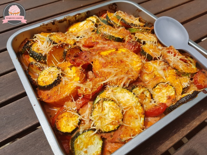 gratin courgettes tomates (2)