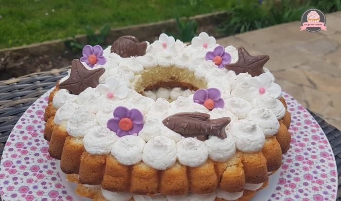 Couronne cake de Pâques (4)