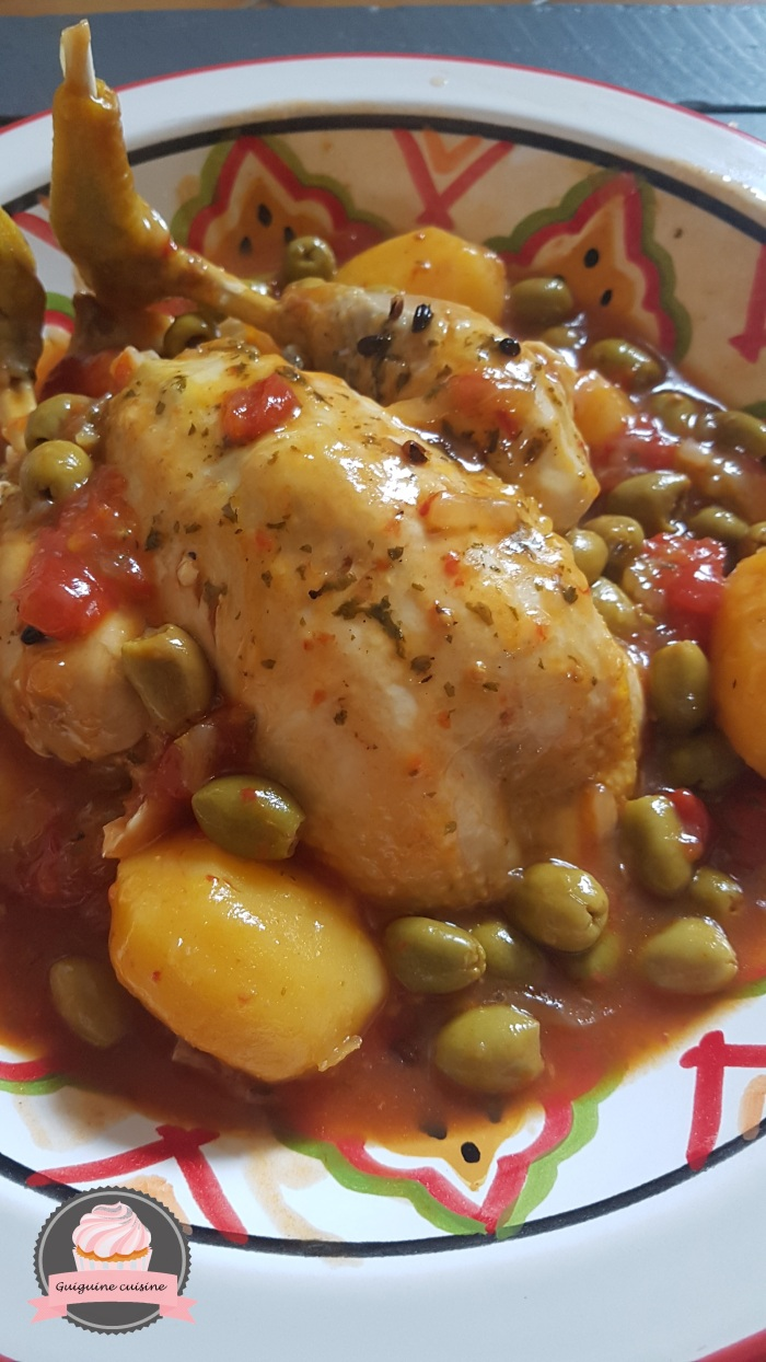 poulet aux olives cookeo (1)