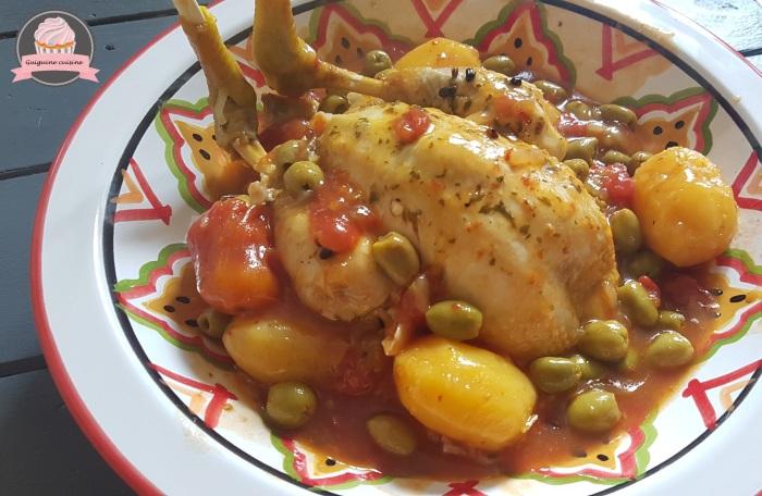 poulet aux olives cookeo (4)